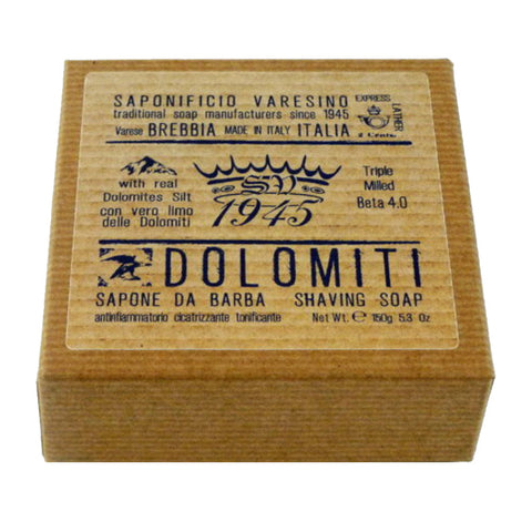 Saponificio Varesino Dolomiti Shaving Soap - No More Beard