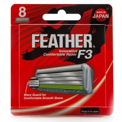 Feather F3 Ersatzklingen - No More Beard