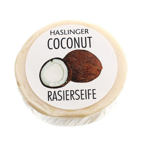 Haslinger Coconut Rasierseife - No More Beard