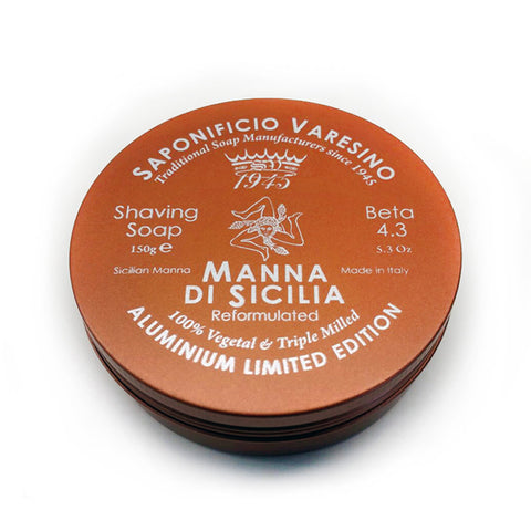 Saponificio Varesino Manna di Sicilia Rasierseife (Limited Edition) - No More Beard