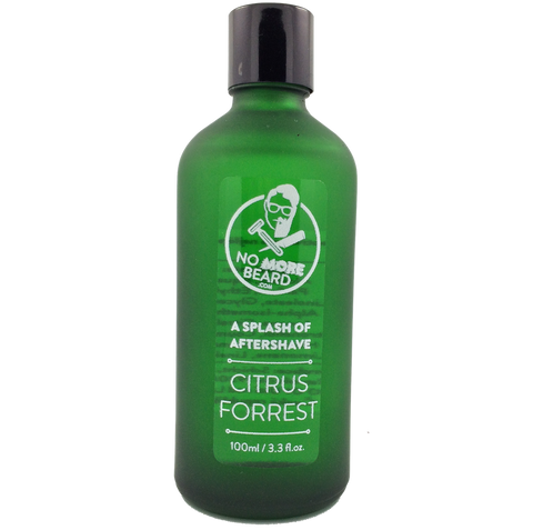 No More Beard Citrus Forrest Aftershave Splash - No More Beard