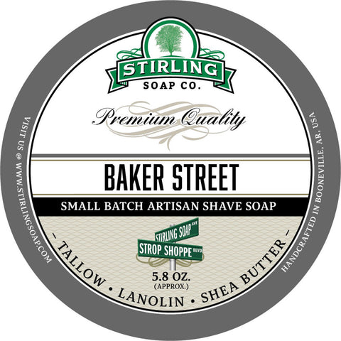 Stirling Baker Street Rasierseife - No More Beard