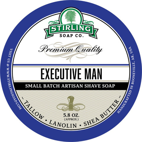Stirling Executive Man Rasierseife - No More Beard