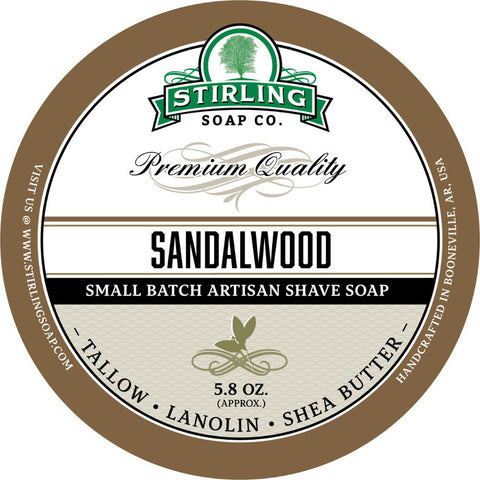 Stirling Sandalwood Rasierseife - No More Beard