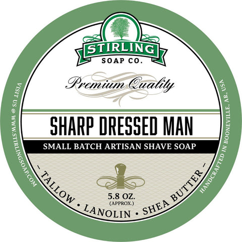 Stirling Sharp Dressed Man Rasierseife - No More Beard