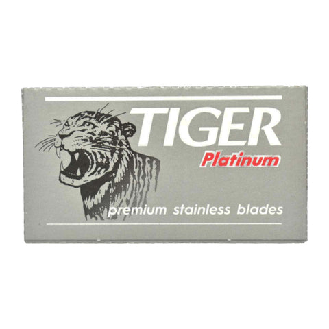 Tiger Platinum Rasierklingen - No More Beard