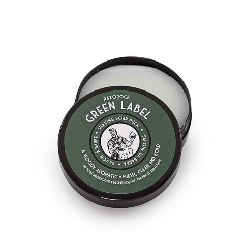 "RazoRock ""What the Puck?!"" Rasierseife - Green Label - No More Beard"