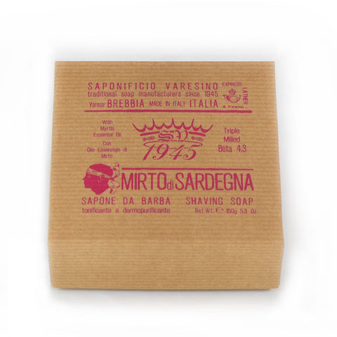 Saponificio Varesino Mirto di Sardegna Shaving Soap - No More Beard