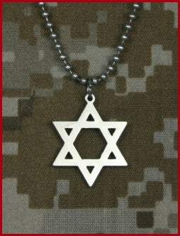 G.I. Jewelry Star of David Pendant