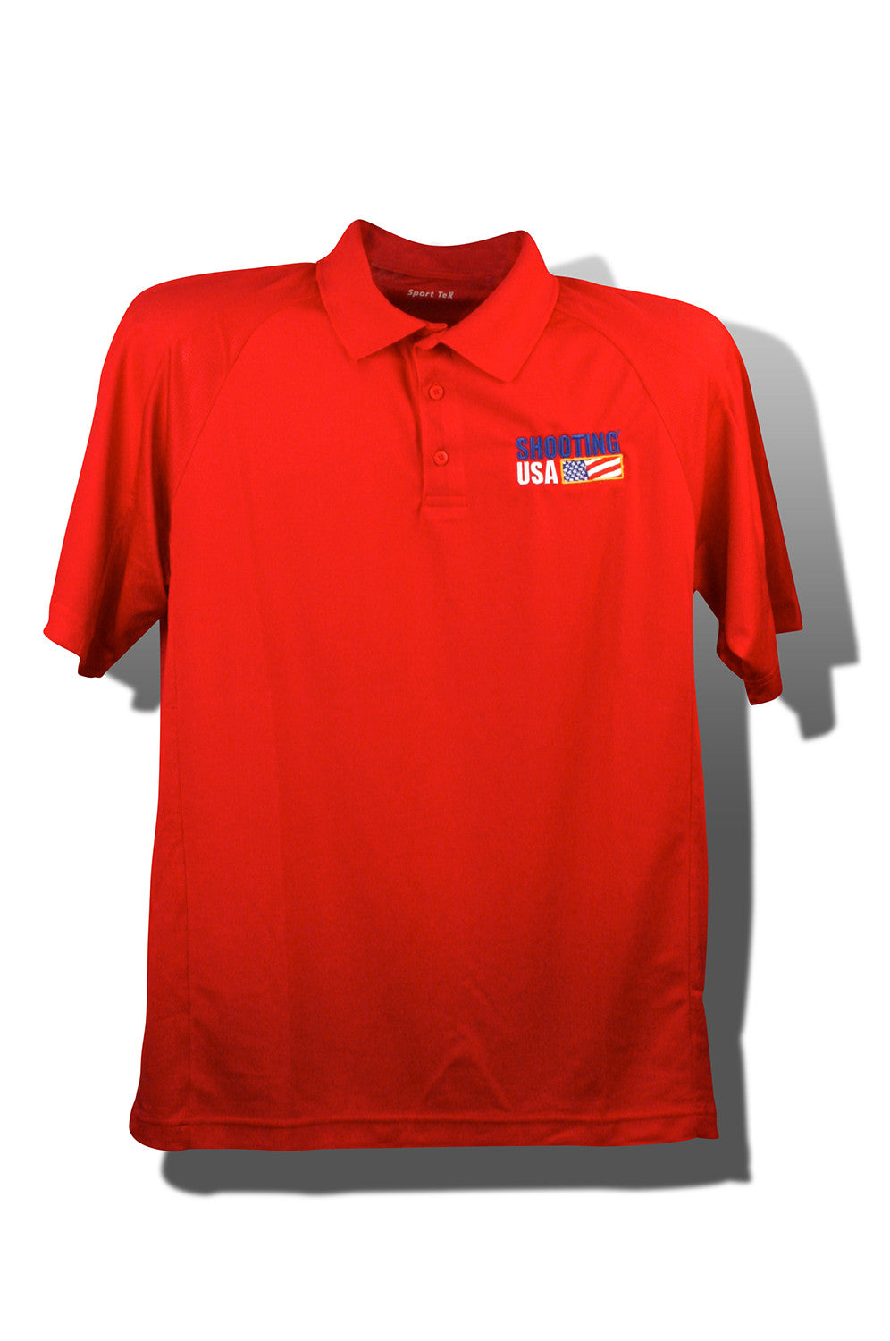 Short Sleeve Dri Mesh Polos Shooting Usa Store