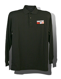 Long Sleeve Cotton Polos