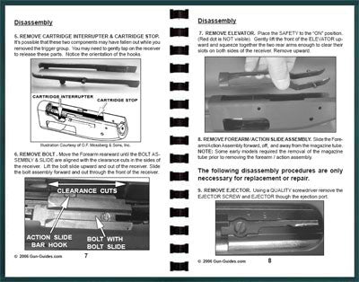 Mossberg 500 Shotguns Disassembly & Reassembly Guide