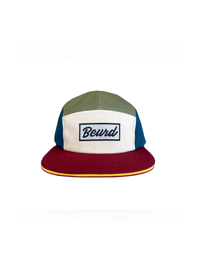 5 panel streetwear cap from Beurd