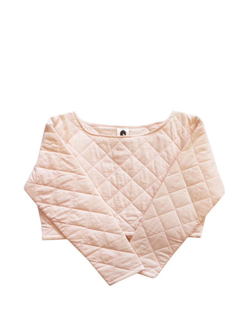 Quilted crop top