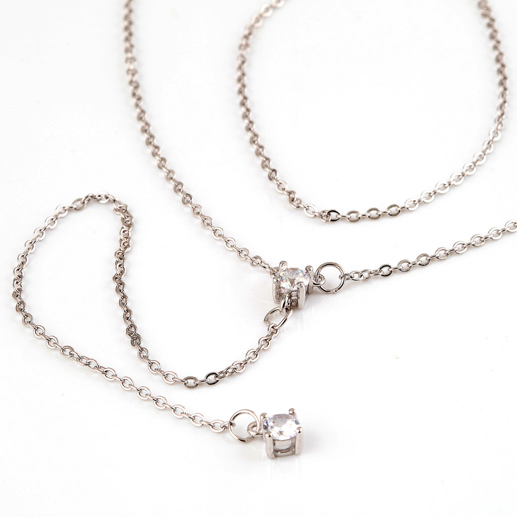Amore low neck necklace