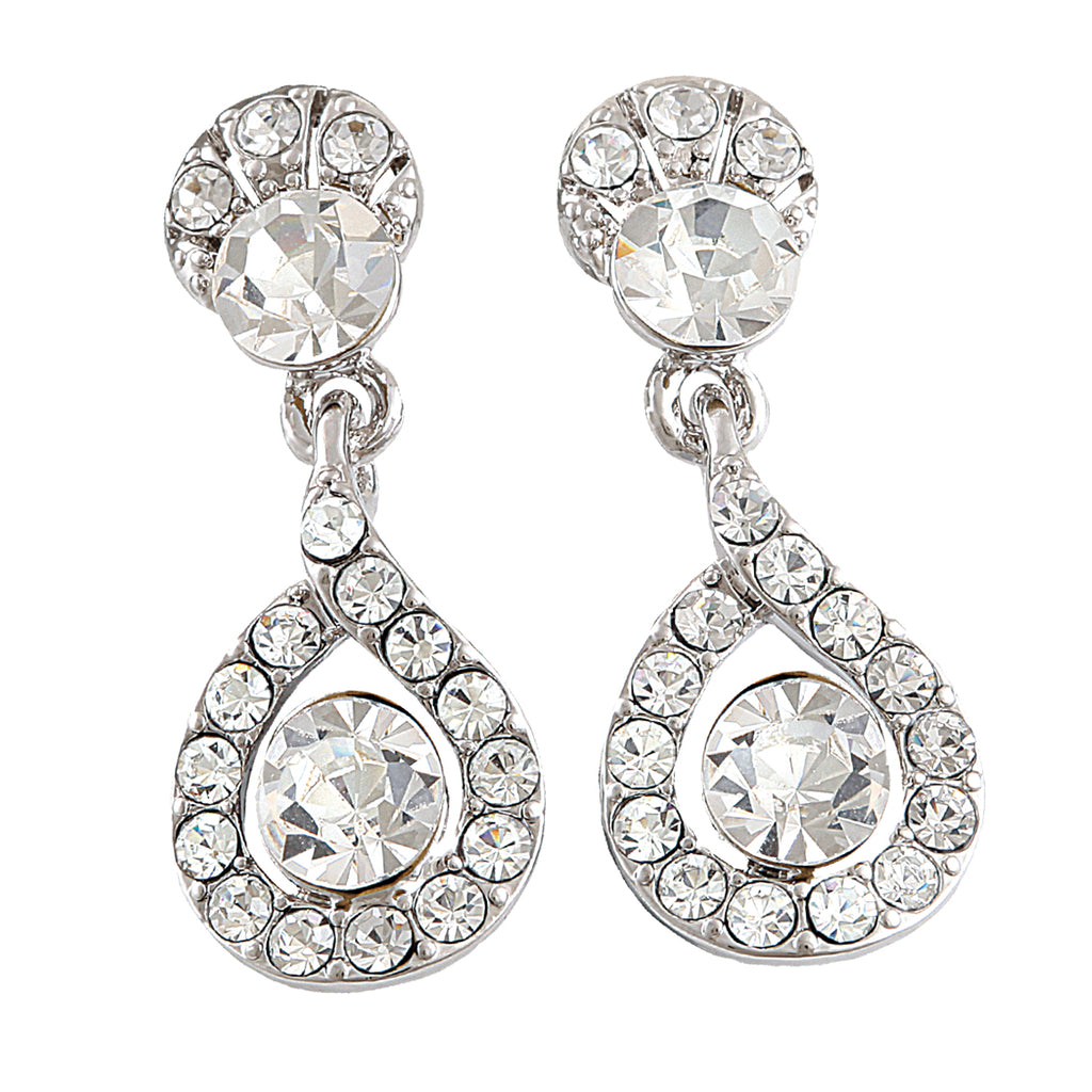 Amara cubic swarovski earrings