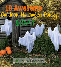 10 Awesome Outdoor Halloween Party Decoration Ideas