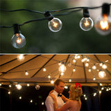 2in warm white globe string fairy led lights