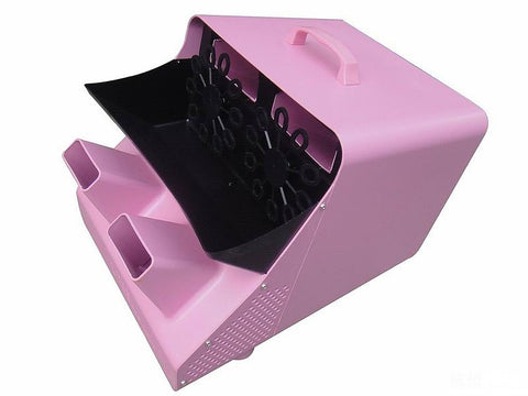 Pink 300W Bubble Machine
