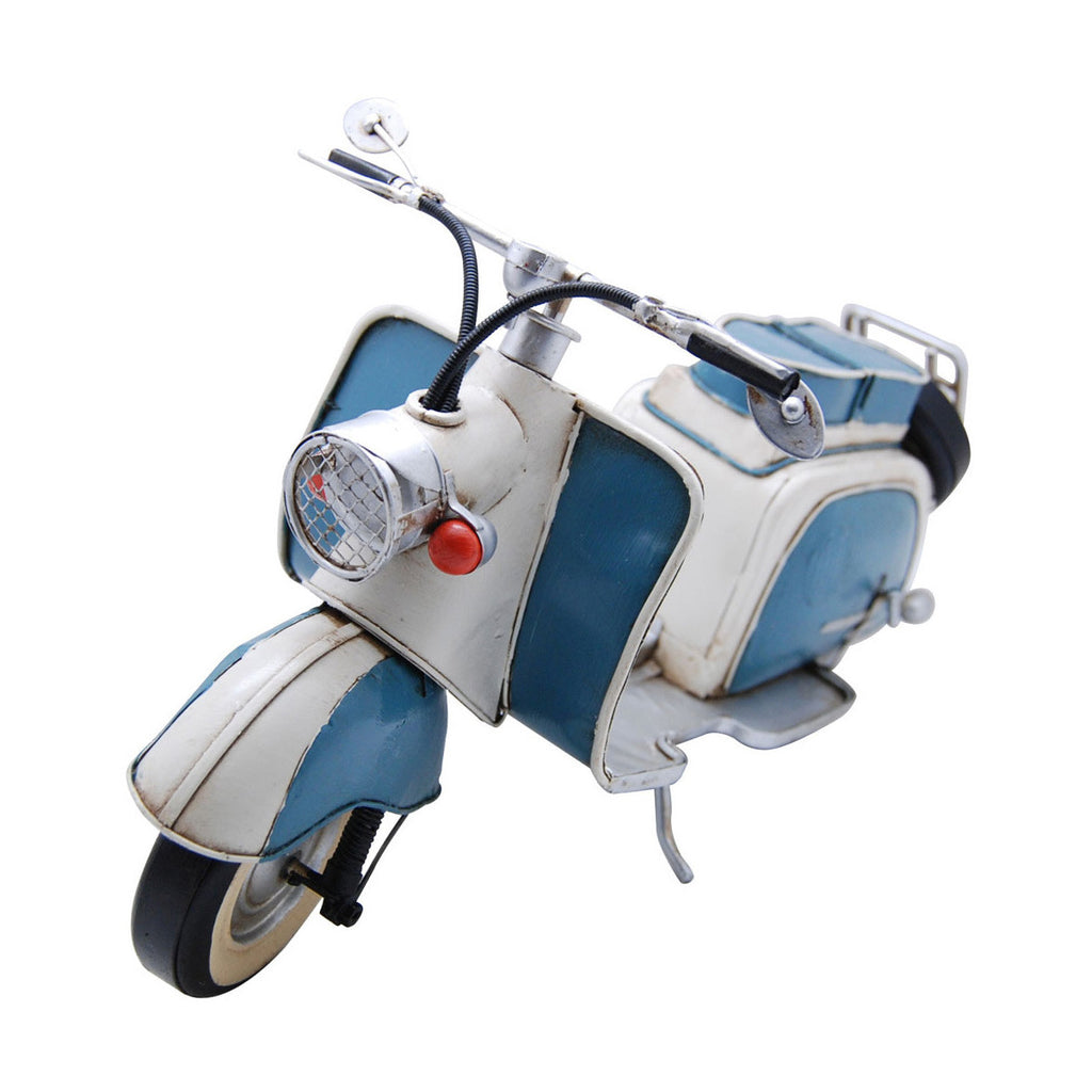 Pretty Valley Home - 1959 TURQUOISE & WHITE IWL BERLIN - 150CC SCOOTER