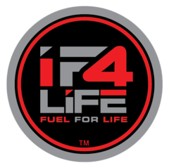 "IF-FUEL company logo, IF4LIFE. IF4LIFE offers cutting edge nutritional supplements for your Intermittent Fasting lifestyle with some of the worlds most powerful and capable phyto-nutrients, super-foods, and anti-oxidants. IF-FUEL will allow to exercise safely and productively while remaining in the ""fasted state."""