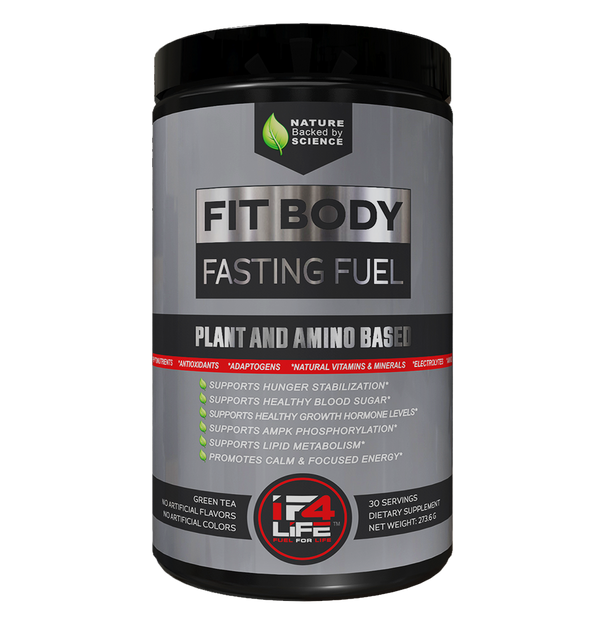 fit body fasting fuel container front