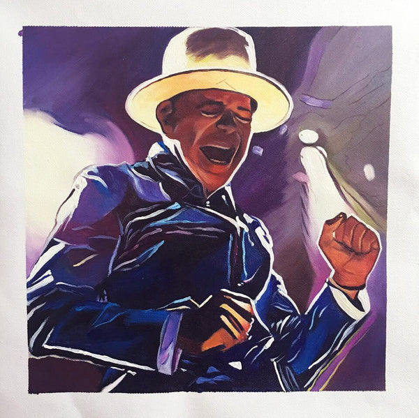 "Original 12"" x 12"" Painting on Canvas - Vancouver Show 1 - Limited Edition (15) - In Gord We Trust"