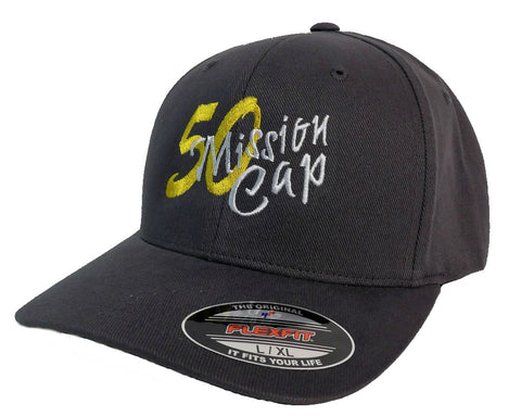 50 Mission Cap - Flex Fit Style - In Gord We Trust