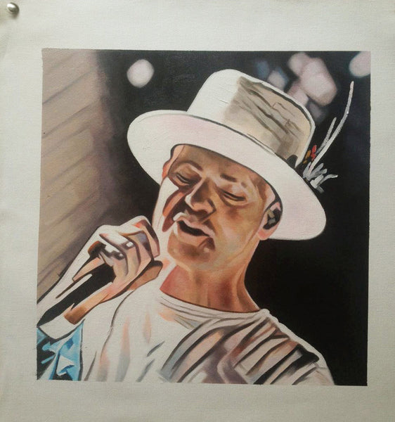 "Original 12"" x 12"" Painting on Canvas - Vancouver Show 2 - Limited Edition (15) - In Gord We Trust"