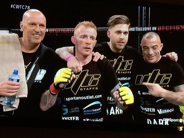 Spartan Outlet sponsored MMA fighter Tim Wilde victorious at Cage Warriors 78