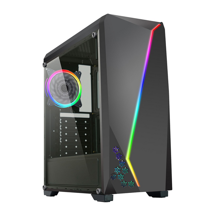 CiT C6063 Gaming PC Tower, Intel Core i5, 16GB RAM, 1TB HDD, 4GB GTX 1050 Ti Graphics, Windows 10 Home 64bit