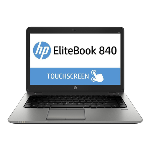 "HP EliteBook 840 G2 Notebook, 14"" Full HD Touchscreen Display, Intel Core i5-5300u 2.30GHz, 8GB RAM, 256GB SSD, Windows 10 Pro 64bit"