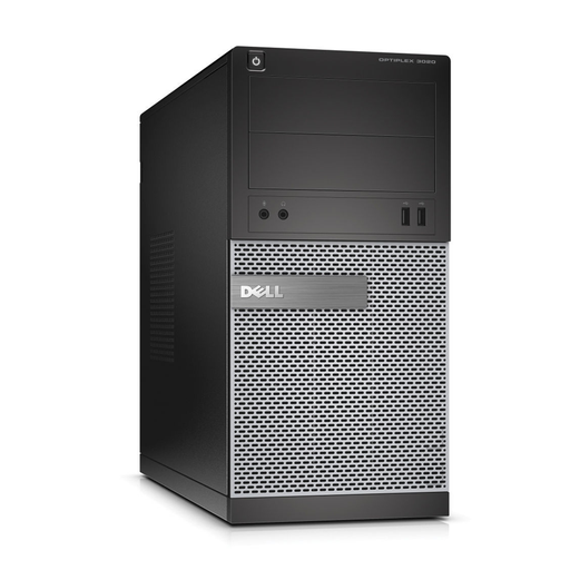 Dell Optiplex 3020 Tower PC, Intel Core i3-4130 3.40GHz, 4GB RAM, 500GB HDD, Windows 10 Pro 64bit