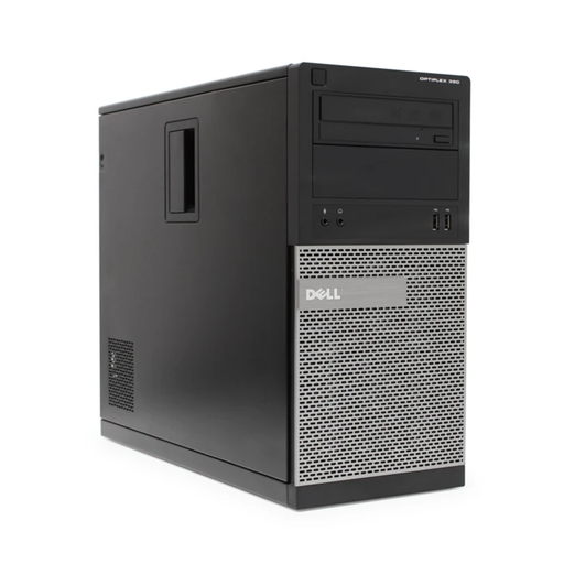 Dell Optiplex 390 Mini Tower PC, Intel Core i3-2100 3.10GHz, 8GB RAM, 250GB HDD, Windows 10 Pro 64bit