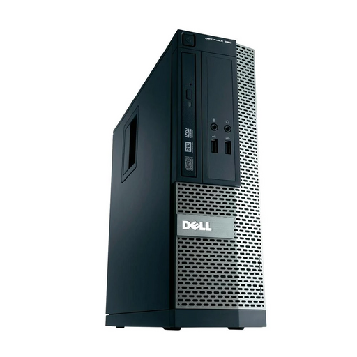 Dell Optiplex 390 SFF PC, Intel Core i3-2100 3.10GHz, 4GB RAM, 500GB HDD, Windows 10 Pro 64bit