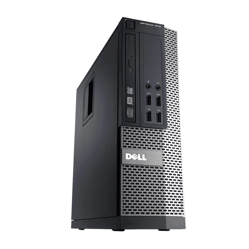 Dell Optiplex 7010 SFF, Intel Core i7-3770 3.40GHz, 8GB DDR3 RAM, 500GB HDD, Windows 10 Pro 64 Bit