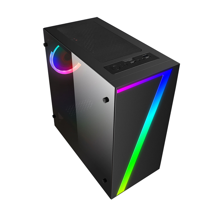 CiT 7 Gaming PC Tower, Intel Core i5, 8GB RAM, 1TB HDD, 2GB GT710 Graphics, Windows 10 Home 64bit