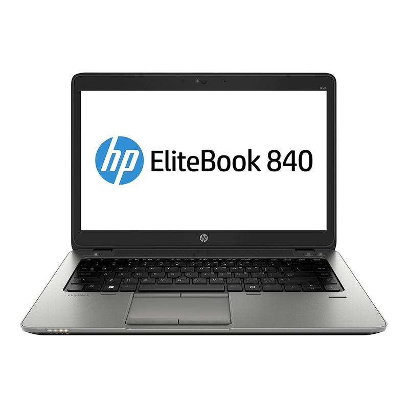 "HP EliteBook 840 G2 Notebook, 14"" 1366 x 768 Display, Intel Core i5-5300u 2.30GHz, 8GB RAM, 256GB SSD, Windows 10 Pro 64bit - Grade A/C"