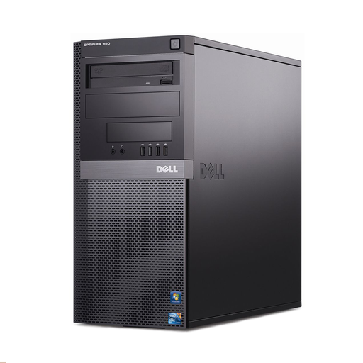 Dell Optiplex 980 Mini Tower PC, Intel Core i5-660 3.33GHz, 4GB RAM, 320GB HDD, Windows 10 Pro 64bit