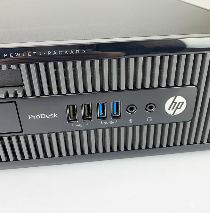 HP ProDesk 400 G1 SFF PC, Intel Core i5-4590 3.30GHz, 4GB RAM, 500GB HDD, Windows 10 Pro 64bit