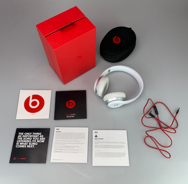 Beats by Dr.Dre Solo2 On-Ear Headphones - White