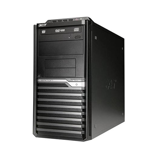Acer Veriton M2611G Tower PC, Intel Core i3-3220 3.30GHz, 8GB RAM, 500GB HDD, Windows 10 Pro 64bit