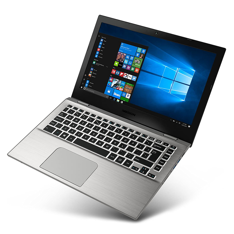 "Medion AKOYA S3409 Ultrabook 13.3"" Full HD Display, Intel Core i7-7500u 2.70GHz, 8GB DDR4 256GB SSD, Windows 10 Home 64Bit  - Grade A/C"
