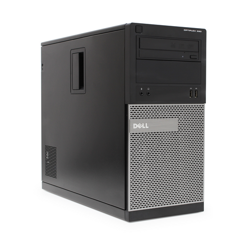 Dell Optiplex 390 Mini Tower PC, Intel Core i5-2400 3.10GHz, 4GB RAM, 500GB HDD, Windows 10 Pro 64bit