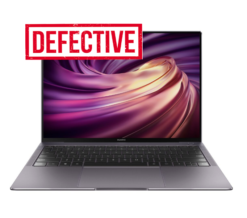 "DEFECTIVE - HUAWEI (Matebook x Pro), 13.9"", Intel Core i5-8250u 1.60GHz, 8GB RAM, 256GB NVME Windows 10 Home 64bit"
