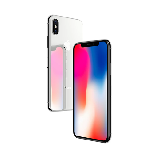 Apple iPhone X - Silver - 64GB - Network Unlocked - Grade C