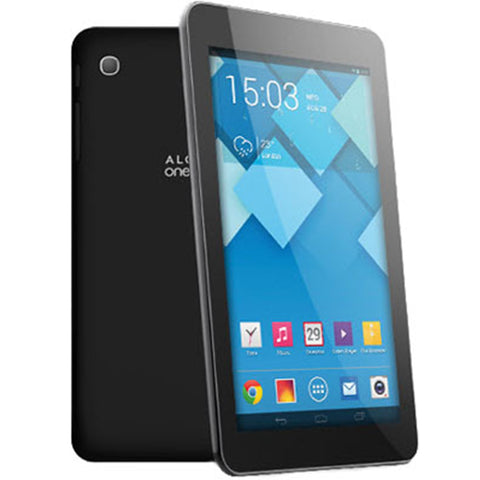 "Alcatel OneTouch Pop 7S, 4G Tablet, 7"", 8GB Storage, Android 4.3 - Wi-Fi and Cellular - Black - EE"