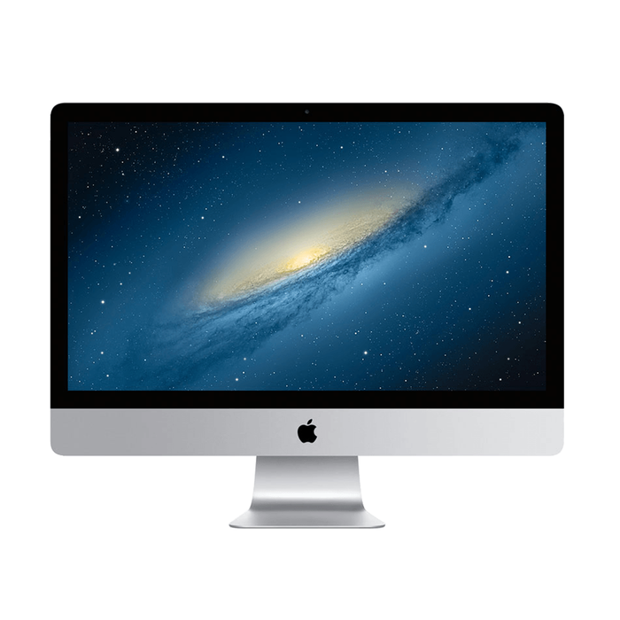 "Apple iMac - A1419 - 27"" 2560 x 1440 Display, Intel Core i7-3770 3.40GHz, 8GB RAM, 1TB HDD, macOS Catalina - Manufacturer Refurbished"