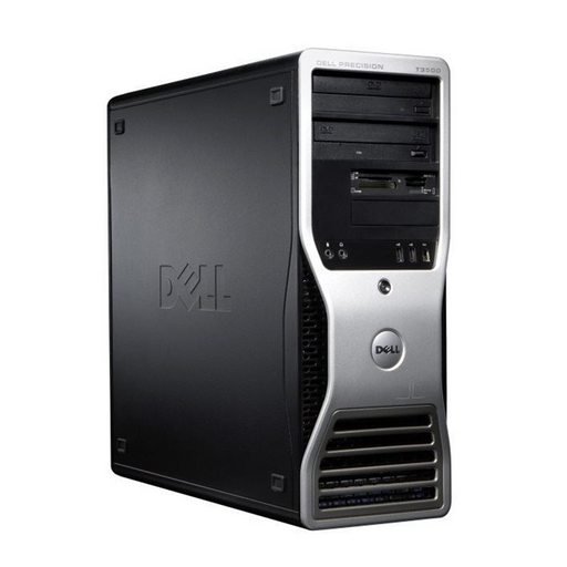 Dell Precision T3500 Workstation, Intel Xeon W3530 2.80GHz, 10GB RAM, 500GB HDD, AMD Radeon HD 5450 512MB Graphics, Windows 10 Pro 64bit