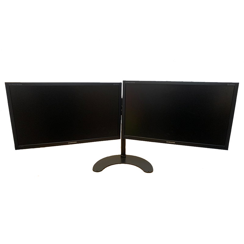 "Dual Monitor Setup, Samsung SyncMaster BX2240 21.5"" Full HD Monitor with Dual Monitor Stand/Mount"